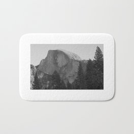 Yosemite Black & White Bath Mat