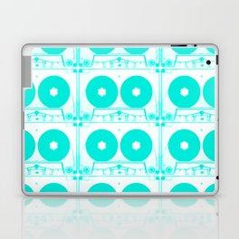 Cassette Cyan Laptop & iPad Skin