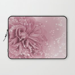 Light Pink Rose with hearts #1 #floral #art #society6 Laptop Sleeve