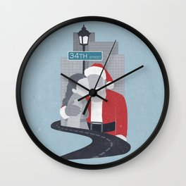 34th Street Miracle Wall Clock