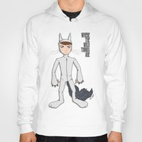 wild things Hoodies featuring Wild Things by Kenneth Shinabery