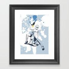 Scout Squirt Framed Art Print