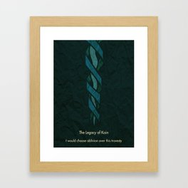 Legacy of Kain Triptych :: The Soul Reaver Framed Art Print