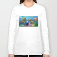 under the sea Long Sleeve T-shirts featuring Under the Sea by Hand Fan