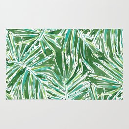 PALMY AND 85 Green Tropical Palm Rug