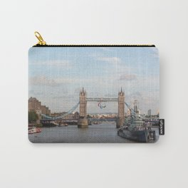 Tower Bridge with Paralympic Symbols Carry-All Pouch