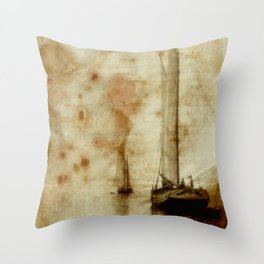 on smuggling trip Throw Pillow