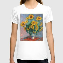 Bouquet of Sunflowers - Claude Monet T-shirt