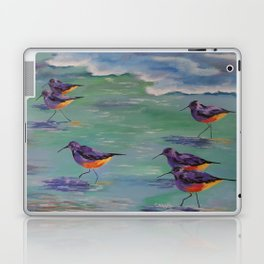 Dance of the Sandpipers Laptop & iPad Skin