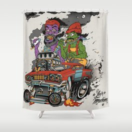 Cheech & Chong Love Machine Shower Curtain