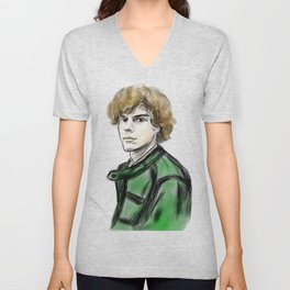 Evan Peters Unisex V-Neck