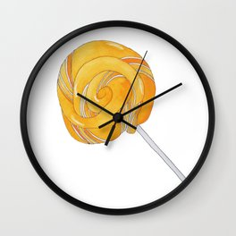 L is for Lollypop Wall Clock