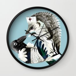 Thanks for your help (GREFA) Wall Clock