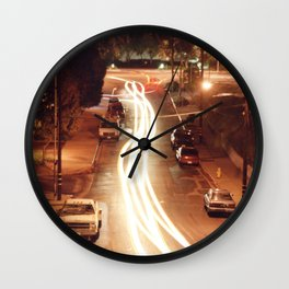 Traffic Stream Wall Clock