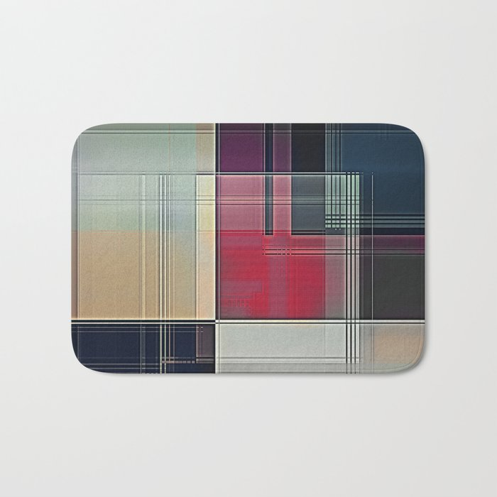 Lines/Abstract Q1 Bath Mat