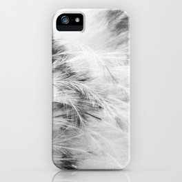 Marabou Feathers iPhone Case