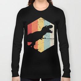 Retro 70s T-Rex Long Sleeve T-shirt