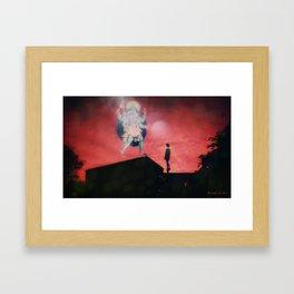 Kali´s visit... Framed Art Print