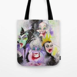 Abstract Villains Tote Bag