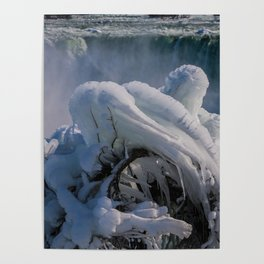 icicle curve Poster