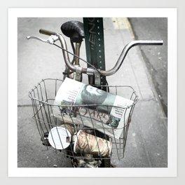 bikes 07 Art Print