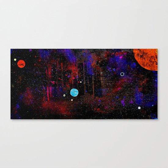 Someone Solar Canvas Print