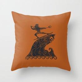 Broseidon Throw Pillow