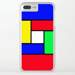 Game of colours Clear iPhone Case