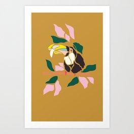 Toucans are Bananas Art Print