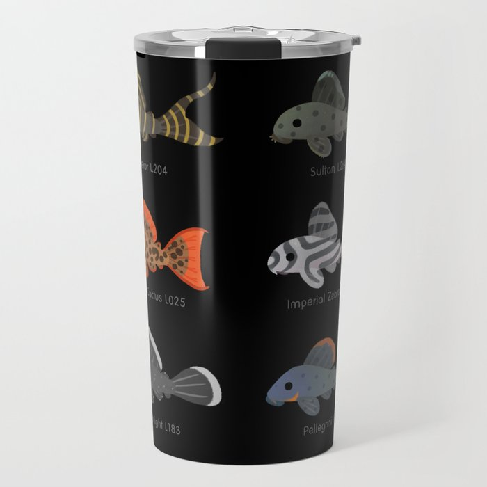 Pleco! - white Travel Mug
