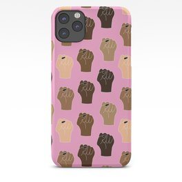 BLACK LIVES MATTER - RESIST FIST iPhone Case