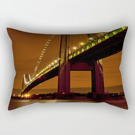 Verrazano-Narrows Bridge Rectangular Pillow
