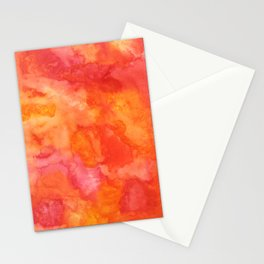 Sunset Blush 3 Stationery Cards
