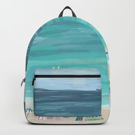 Day at the Beach Backpack