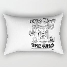The Who Rectangular Pillow