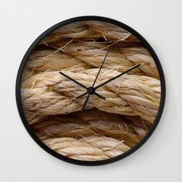 Sisal rope Wall Clock
