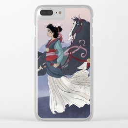 Mulan Clear iPhone Case