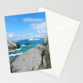 Caribbean at Virgin Gorda Stationery Cards