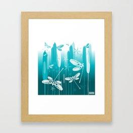 CN DRAGONFLY 1014 Framed Art Print