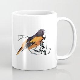 Maryland – Baltimore Oriole Coffee Mug