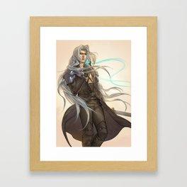 FFVII Framed Art Print