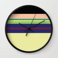 mulan Wall Clocks featuring Mulan by Fräulein Fisher