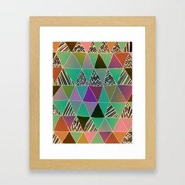Triangle 3 Framed Art Print