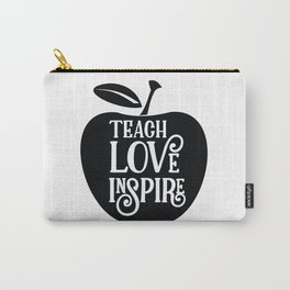 Teach Love Inspire Apple Carry-All Pouch