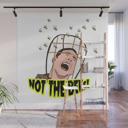 NOT THE BEES! Wall Mural