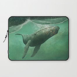 The Whale & The Moon Laptop Sleeve