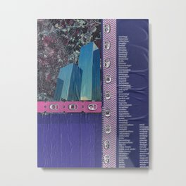 City Living Metal Print