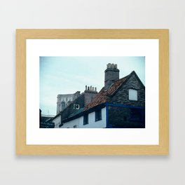 Chimneys Framed Art Print