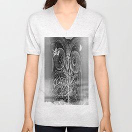 Owl time Unisex V-Neck