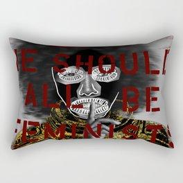 Veni Vidi Vici Feminism Rectangular Pillow